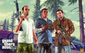 Grand Theft Auto(GTA) 5 Wide HD Wallpaper