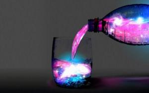 Magic Water Wide HD Wallpaper