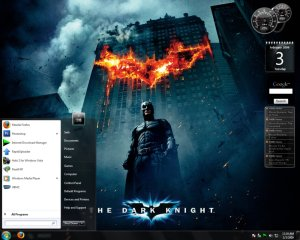 Dark Knight Window 7 Theme