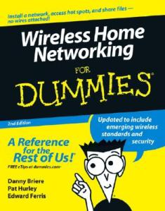 Wireless Home Networking for Dummies Ebook