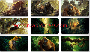 The Jungle Book Theme For Windows 7, 8, 8.1 and 10 32 bit / 64 bit
